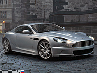 2007 Aston Martin DBS = 307 км/ч. 517 л.с. 4.3 сек.