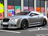 2009 Bentley Continental GT Speed Hamann Imperator = 330 км/ч. 650 л.с. 4.4 сек.