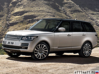 2012 Land Rover Range Rover Supercharged = 225 км/ч. 510 л.с. 5.4 сек.