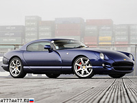 1997 TVR Cerbera Speed Eight 4.5 = 265 км/ч. 426 л.с. 4.2 сек.