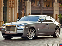 2010 Rolls-Royce Ghost = 250 км/ч. 570 л.с. 4.9 сек.