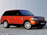 2005 Land Rover Range Rover Sport Supercharger = 222 км/ч. 395 л.с. 7.4 сек.