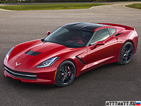 2013 Chevrolet Corvette Stingray (C7) = 306 км/ч. 460 л.с. 3.9 сек.
