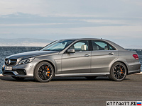 2013 Mercedes-Benz E 63 AMG 4Matic (W212) = 250 км/ч. 557 л.с. 3.7 сек.