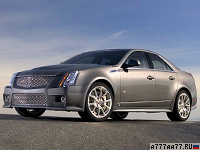 2009 Cadillac CTS-V = 308 км/ч. 564 л.с. 4.1 сек.