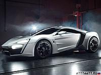 2013 W Motors Lykan Hypersport = 390 км/ч. 750 л.с. 2.8 сек.