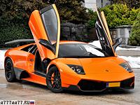 2009 Lamborghini Murcielago LP670-4 SuperVeloce = 342 км/ч. 670 л.с. 3.2 сек.