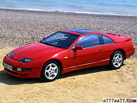 1989 Nissan Fairlady 300ZX Twin Turbo (Z32) = 250 км/ч. 283 л.с. 5.6 сек.
