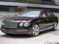2014 Bentley Flying Spur = 322 км/ч. 625 л.с. 4.6 сек.