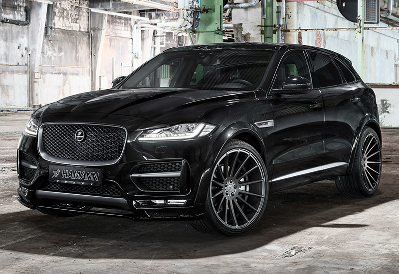 2017 Jaguar F-Pace S Widebody Hamann
