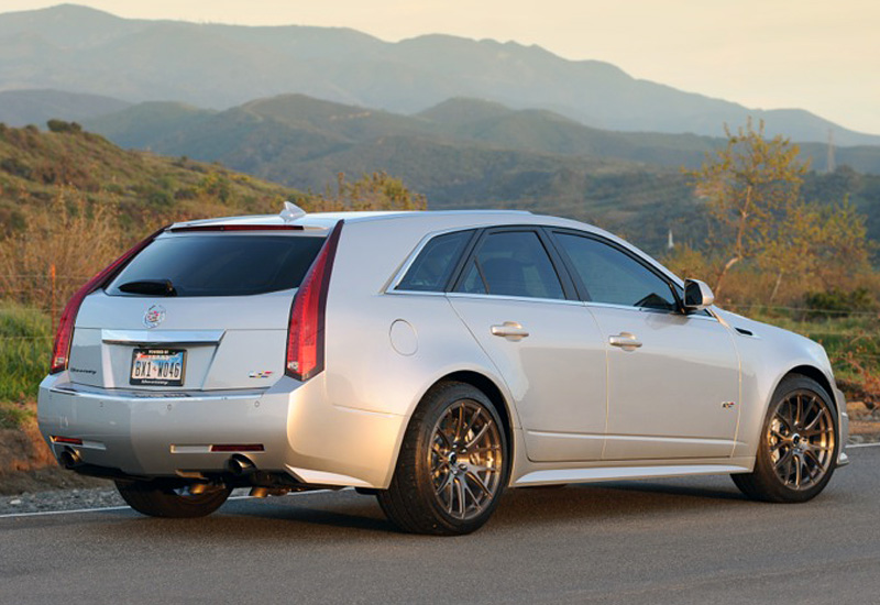 2011 Cadillac CTS-V Sport Wagon Hennessey HPE750 Supercharged