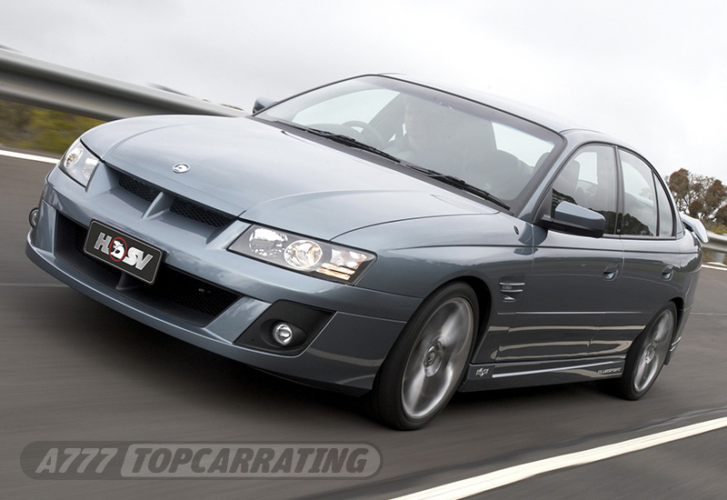 2004 Holden Commodore HSV Clubsport R8 (VZ)