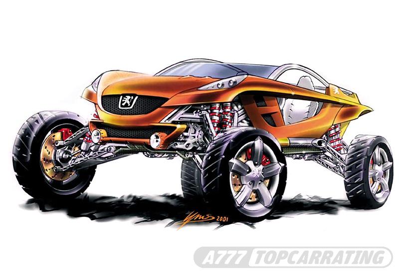 2003 Peugeot Hoggar Concept
