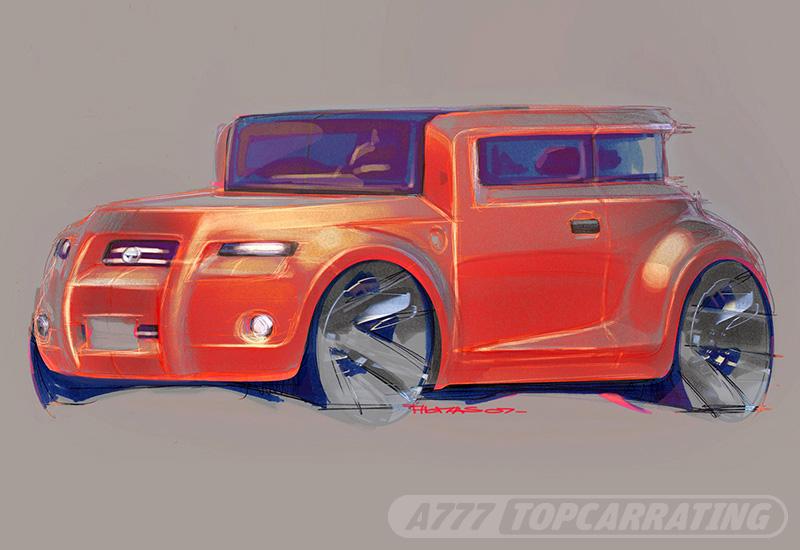 2008 Scion Hako Coupe Concept