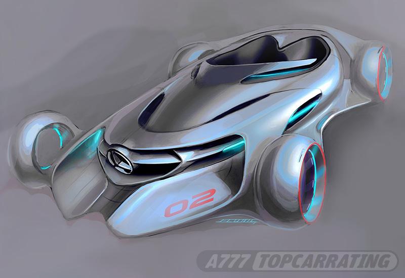 2011 Mercedes-Benz Silver Arrow Concept