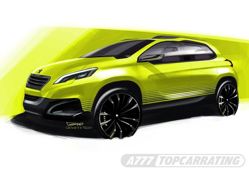2012 Peugeot 2008 Concept