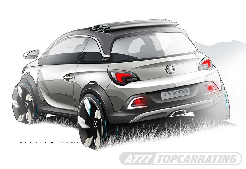 2013 Opel Adam Rocks Concept