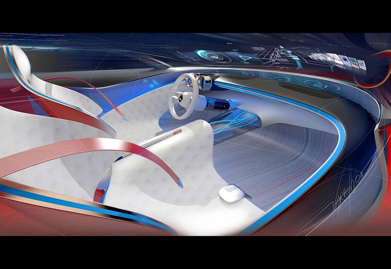 2016 Mercedes-Maybach 6 Vision Concept