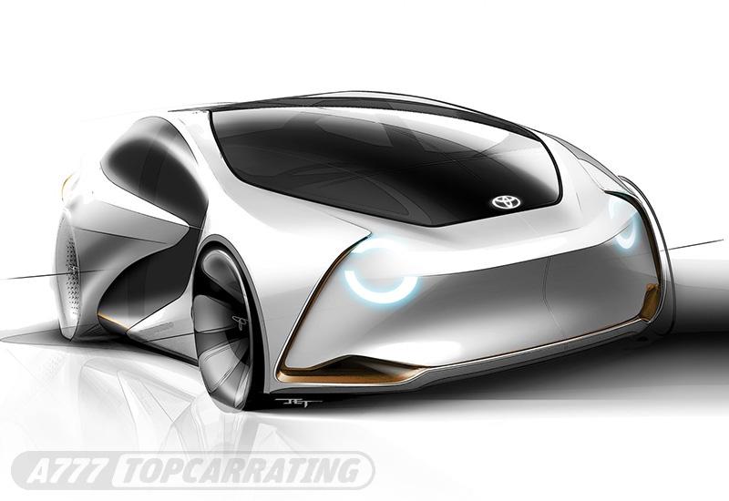 2017 Toyota i Concept
