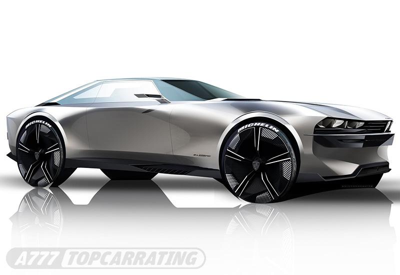 2018 Peugeot e-Legend Concept