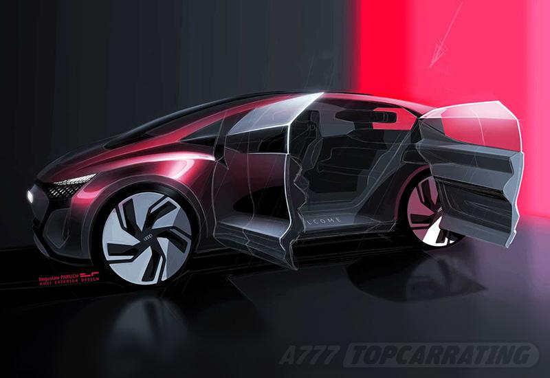 2019 Audi AI-ME Concept