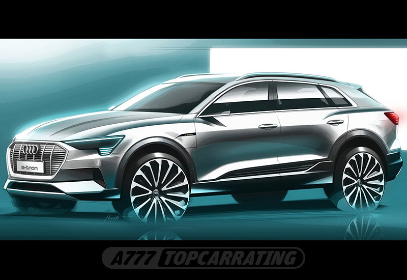 2019 Audi Е-tron 55 quattro