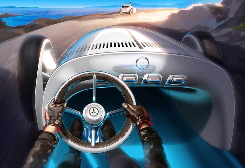 2019 Mercedes-Benz Vision Simplex Concept