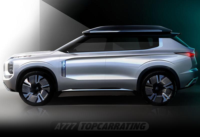 2019 Mitsubishi Engelberg Tourer Concept