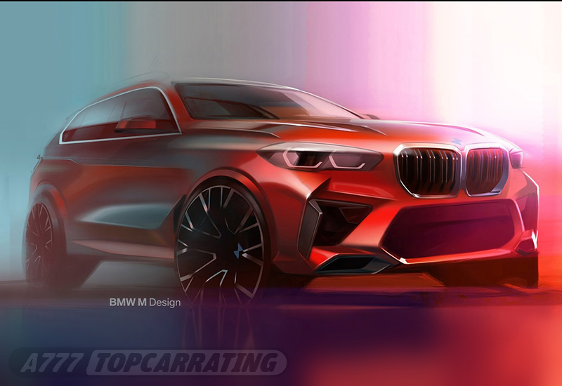2020 BMW X5 M Competition (F95)