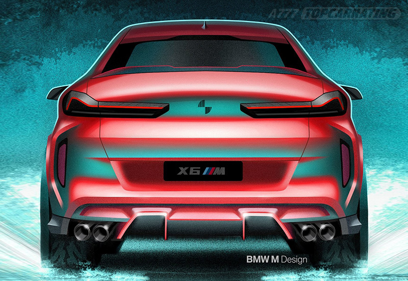 2020 BMW X6 M Competition (F96)