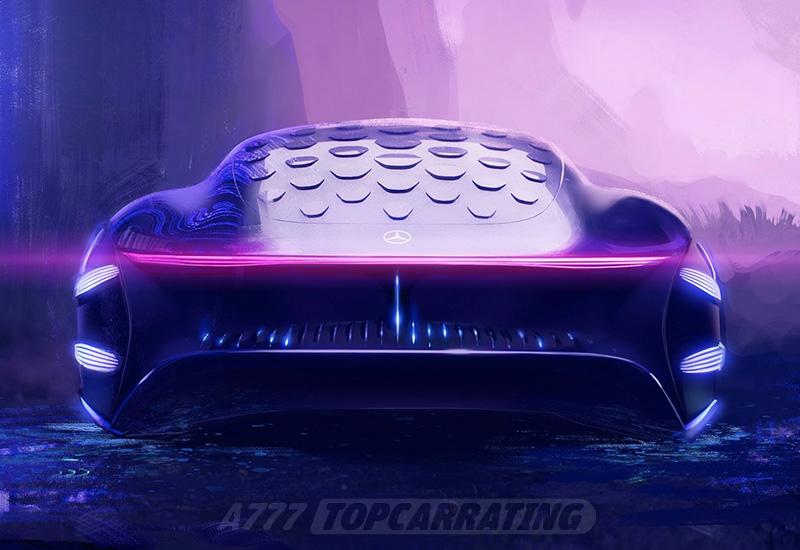2020 Mercedes-Benz Vision Avtr Concept