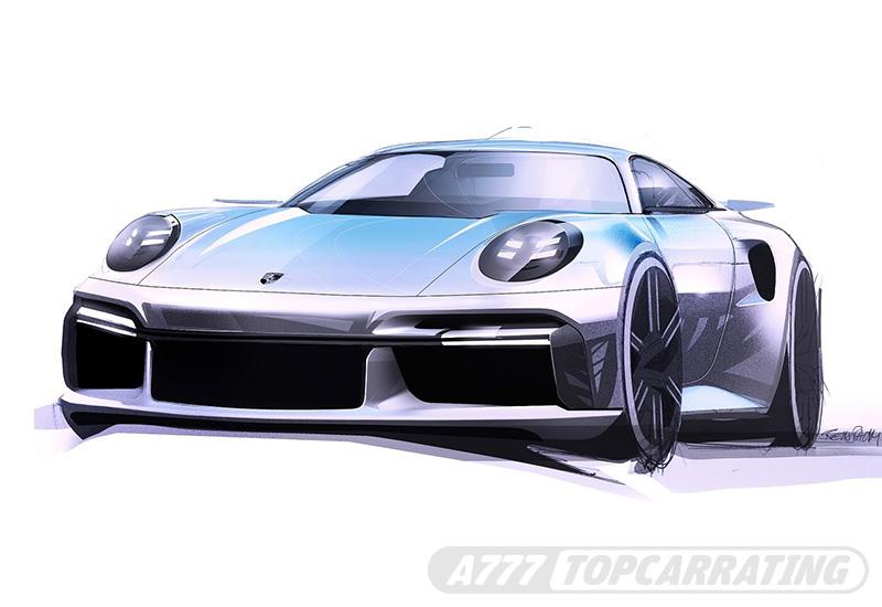 2020 Porsche 911 Turbo S (992)