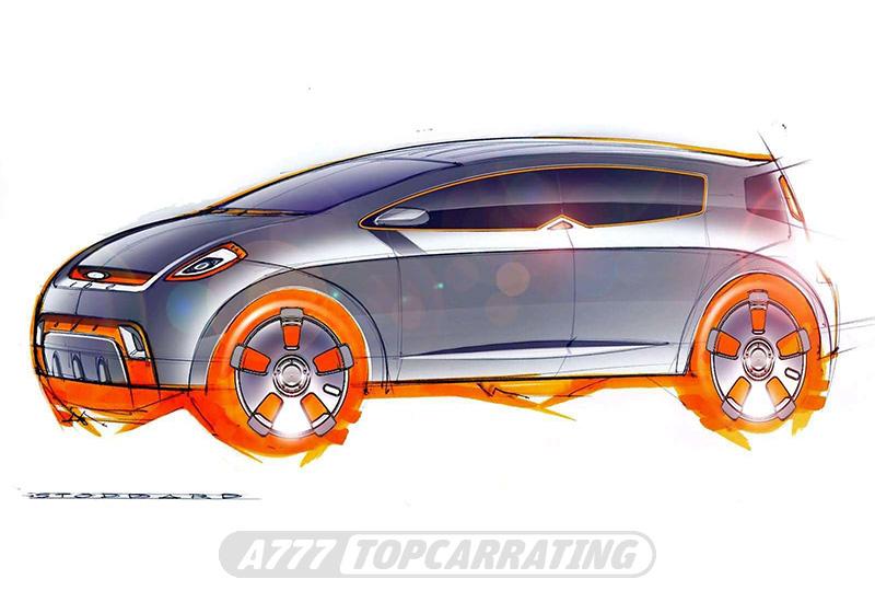 2003 Kia KCD1 Slice Concept