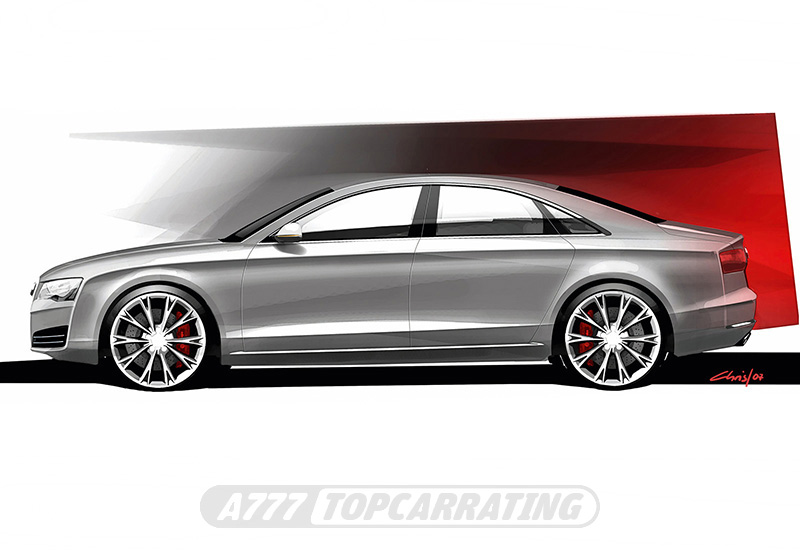 2011 Audi A8 L W12 quattro