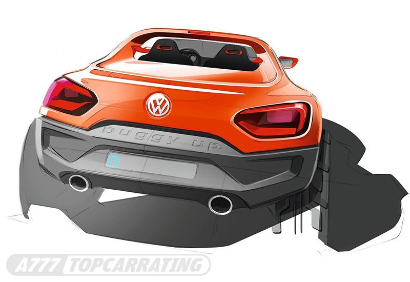 2011 Volkswagen Buggy Up Concept