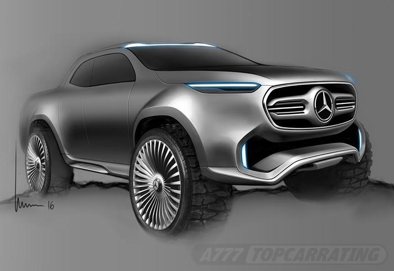 2016 Mercedes-Benz X-Class Pickup Concept