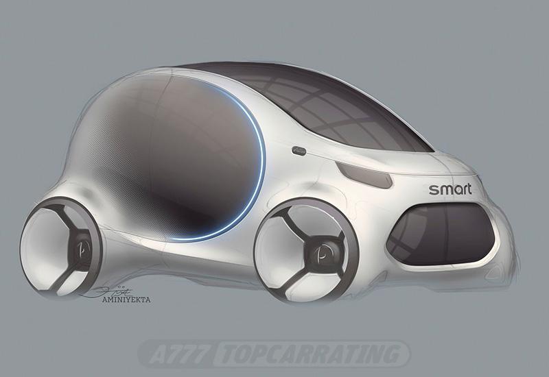 2017 Smart Vision EQ ForTwo Concept