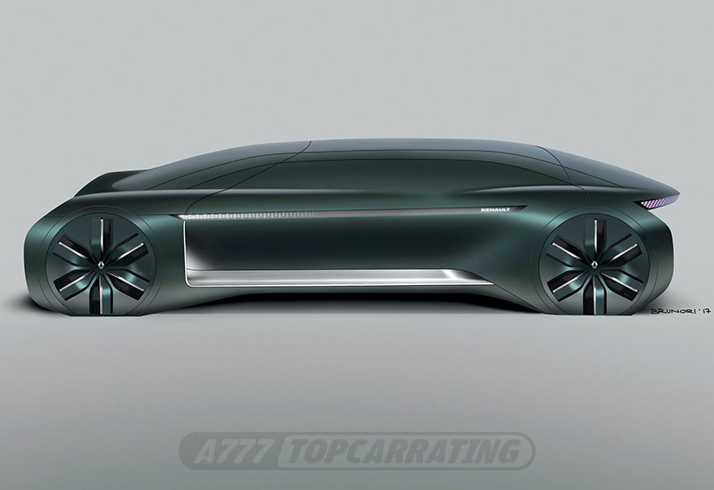 2018 Renault EZ-Ultimo Concept