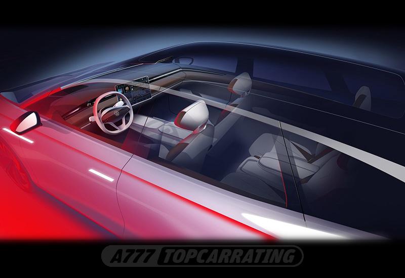 2019 Volkswagen ID Space Vizzion Concept