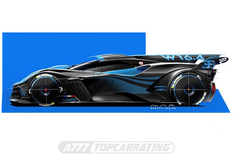 2020 Bugatti Bolide Prototype