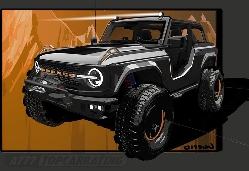 2020 Ford Bronco Badlands Sasquatch 2-Door Concept