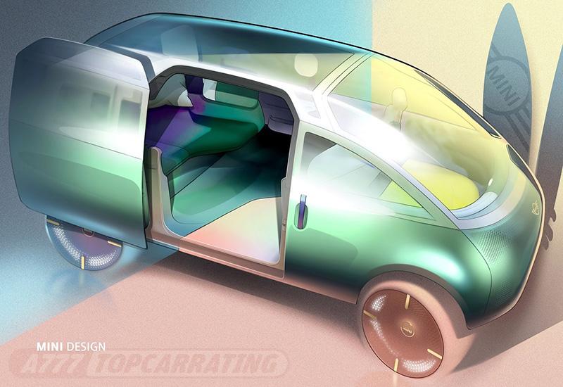 2020 Mini Vision Urbanaut Concept