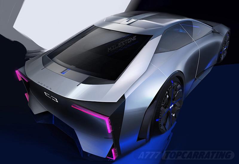 2020 Qoros Milestone Concept