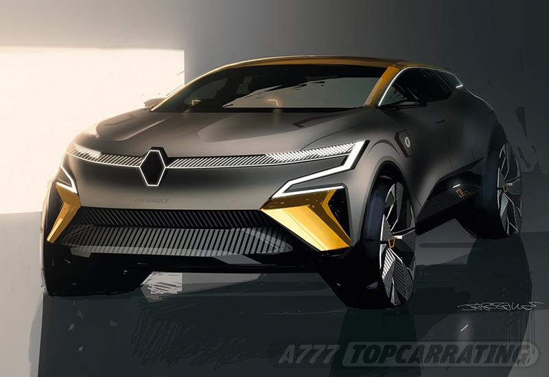 2020 Renault Megane eVision Concept