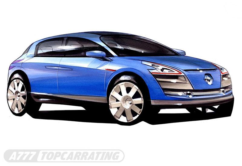 2005 Renault Egeus Concept Car