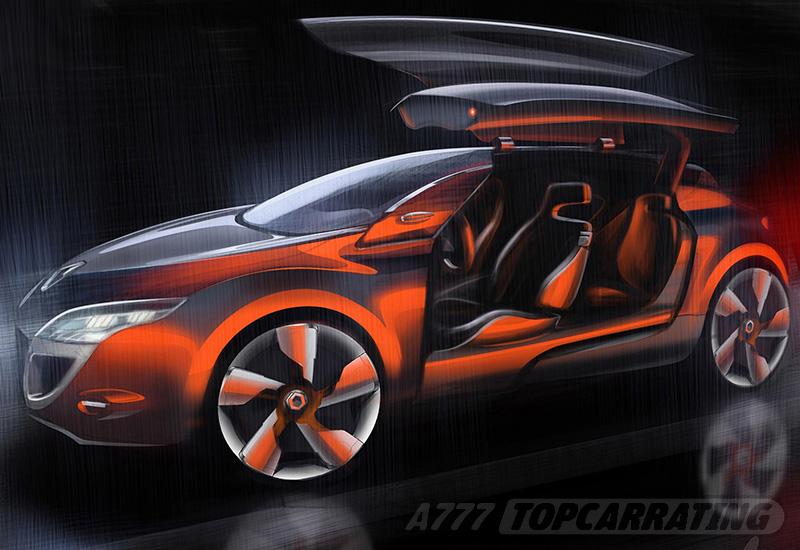 2008 Renault Megane Coupe Concept
