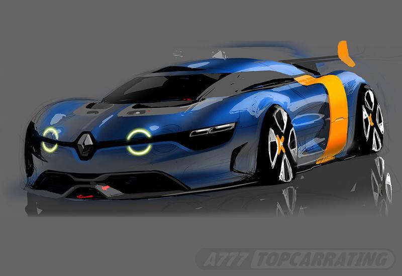 2012 Renault Alpine A 110-50 Concept