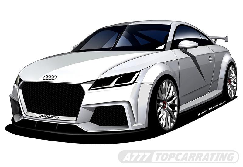 2014 Audi TT quattro sport concept