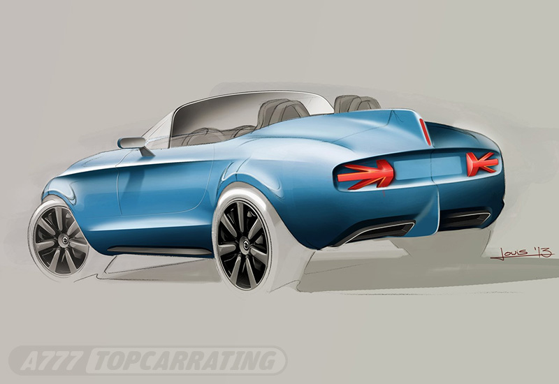 2014 Mini Superleggera Vision Concept