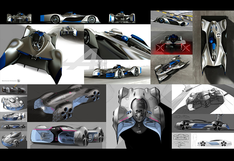 2015 Alpine Vision Gran Turismo Concept